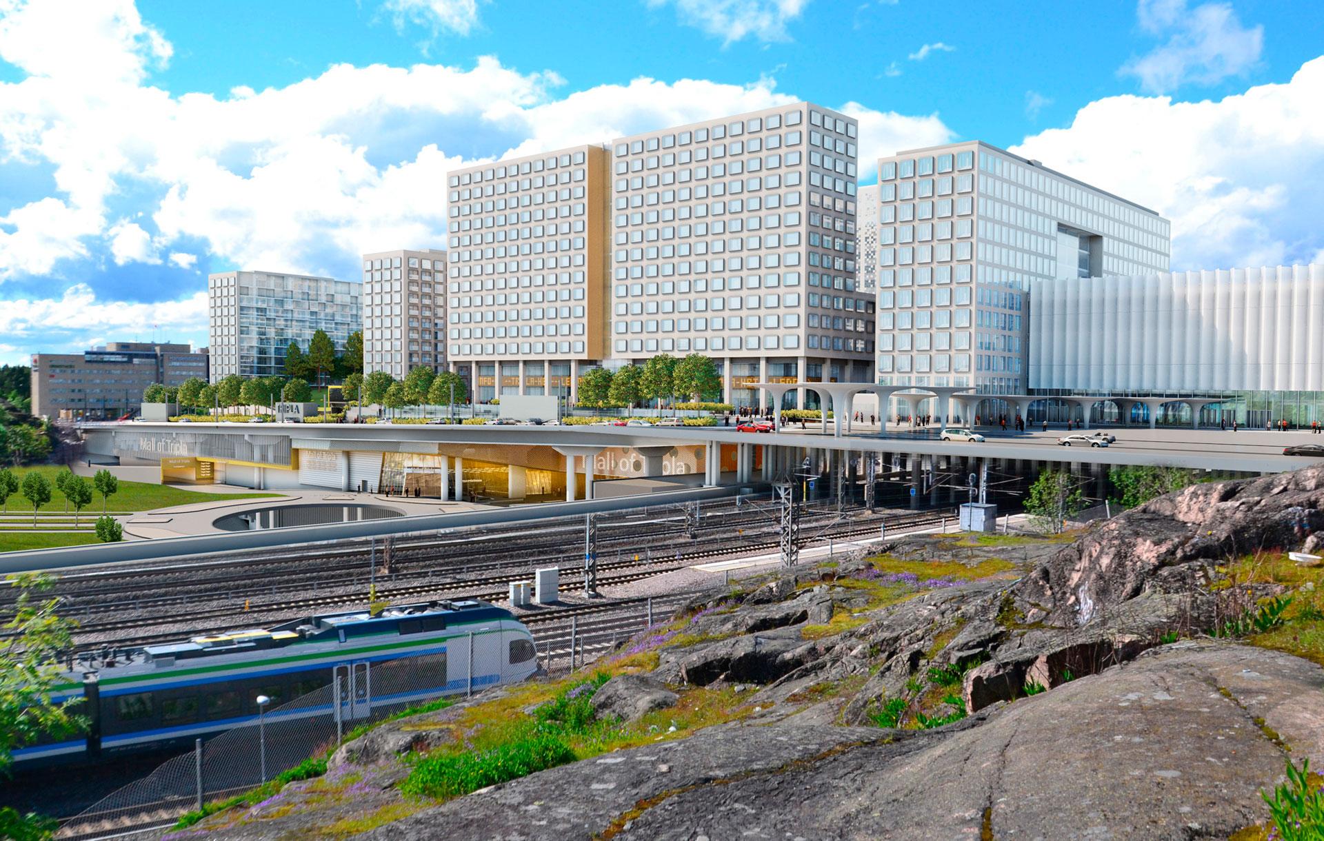 Tripla - Helsingin Uusi Kaupunkikeskus