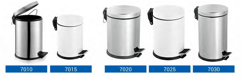 Roska-astiat ja roskapussitelineet